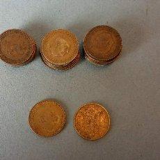 Monedas de España: LOTE DE 25 MONEDAS. FRANCISCO FRANCO CAUDILLO. UNA PESETA.. Lote 257622480