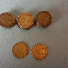 Monedas de España: LOTE DE 25 MONEDAS. FRANCISCO FRANCO CAUDILLO. UNA PESETA.. Lote 257622660