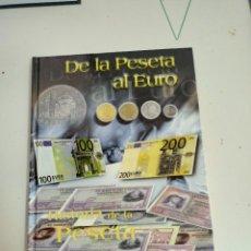 Monedas de España: X DE LA PESETA AL EURO. HISTORIA DE LA PESETA (INCLUYE CAJA CON LAS 30 MONEDAS). Lote 257624590