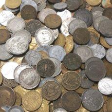 Monedas de España: LOTAZO- 2 KILOS DE MONEDAS DE FRANCO- SIN CLASIFICAR. EJEMPLARES DE COLECCIÓN.. Lote 258213505