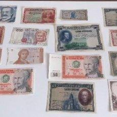 Monedas de España: LOTE MONEDAS Y BILLETES VARIADO ESPAÑA FRANCIA....... Lote 259830925
