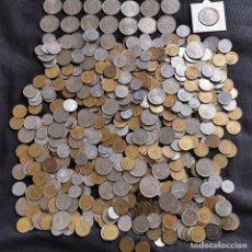 Monete di Spagna: ⚜️ A2054. 2,13 KILOS DE MONEDA ESPAÑOLA + ERROR DOS PLUMAS ALA IZQUIERDA. Lote 260326650