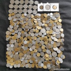 Monete di Spagna: ⚜️ A2026. 2,18 KILOS DE MONEDA ESPAÑOLA + 1 PESETA 1963 *67 + 1953 *56 SIN CIRCULAR + ERROR. Lote 260327045