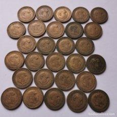 Monedas de España: ⚜️ A1921. 28 PIEZAS DE 2,50 PESETAS *54 Y *56. 198G. Lote 260336160