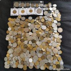 Monete di Spagna: ⚜️ A1950. 2,2 KILOS MONEDA ESPAÑOLA + SERIE 1975 *76 + 1 PESETA 53*56 Y 63*65 SIN CIRCULAR + ERROR. Lote 260346455