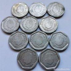 Monedas de España: ⚜️ A1937. LOTE PARA PROFESIONAL. 11 PIEZAS DE 200 PESETAS JUAN CARLOS I. BUENA CALIDAD. 78G. Lote 260395230