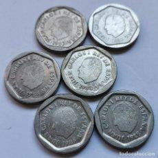 Monete di Spagna: ⚜️ A2019. LOTE PARA PROFESIONAL. 6 PIEZAS DE 200 PESETAS JUAN CARLOS I. BUENA CALIDAD. 44G. Lote 260395505
