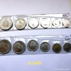 Monedas de España: ⚜️ A1949. DOS SERIES DE 1975 *76 EN TIRAS. Lote 260442305