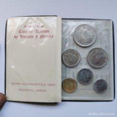 Monete di Spagna: ⚜️ A2053. CARTERA DEL MUNDIAL DE FÚTBOL ESPAÑA 82 *80, DE LA CAJA DE AHORROS DE ALICANTE Y MURCIA. Lote 260442525