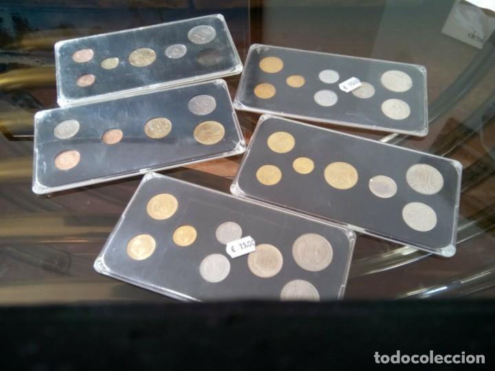 Monedas de España: 5 ESTUCHES MONEDAS GRECIA DIFERENTES AÑOS , LIQUIDACION - Foto 9 - 261192400