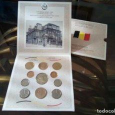 Monedas de España: CARTERA MONEDAS BELGICA AÑO 1989 COMPLETO , LIQUIDACION. Lote 261193360