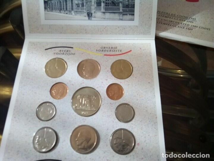 Monedas de España: CARTERA MONEDAS BELGICA AÑO 1989 COMPLETO , LIQUIDACION - Foto 2 - 261193360