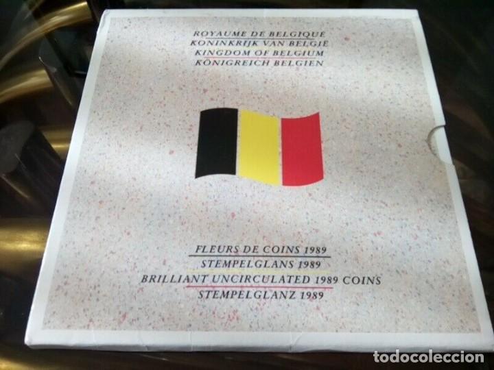 Monedas de España: CARTERA MONEDAS BELGICA AÑO 1989 COMPLETO , LIQUIDACION - Foto 3 - 261193360