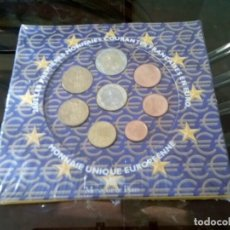 Monedas de España: CARTERA EUROS FRANCIA 2002 LOS PRIMEROS LIQUIDACION. Lote 261194850