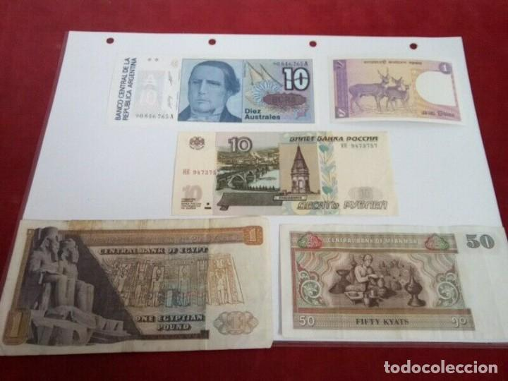Monedas de España: 5 BILLETES EXTRANJEROS VER CARACTERISTICAS - Foto 2 - 261225795