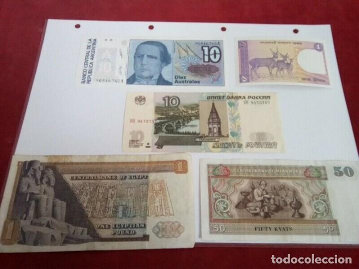 Monedas de España: 5 BILLETES EXTRANJEROS VER CARACTERISTICAS - Foto 3 - 261225795