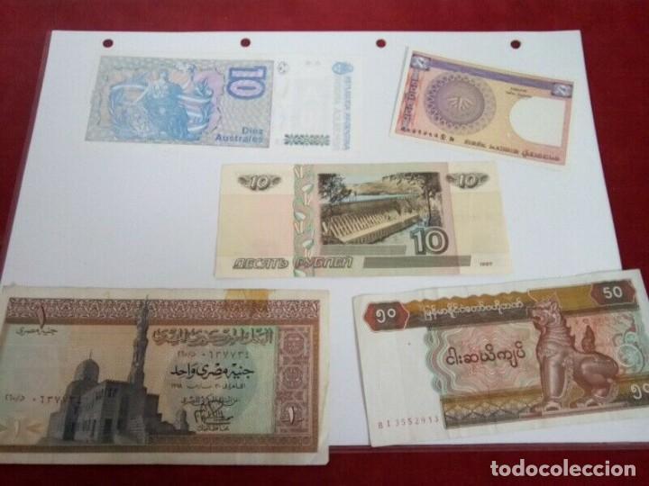 Monedas de España: 5 BILLETES EXTRANJEROS VER CARACTERISTICAS - Foto 4 - 261225795