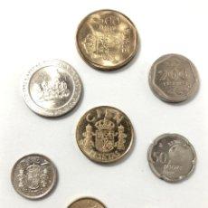 Monedas de España: CONJUNTO DE MONEDAS REY JUAN CARLOS 1º. DE SIN CIRCULAR A EXCELENTE ESTADO DE CONSERVACIÓN.. Lote 261863890