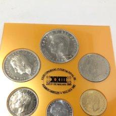 Monedas de España: EXPOSITOR SERIE MUNDIAL DEL 82. XXIII CONGRESO INTERNACIONAL DE FERROCARRILES. MÁLAGA 1982.. Lote 261867495