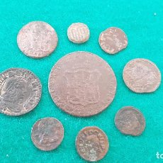 Monedas de España: (045) LOTE DE 9 MONEDAS ANTIGUAS VARIADAS III. Lote 261953540