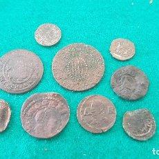 Monedas de España: (046) LOTE DE 9 MONEDAS ANTIGUAS VARIADAS II. Lote 261953835