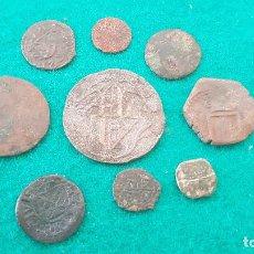 Monedas de España: (047) LOTE DE 9 MONEDAS ANTIGUAS VARIADAS I. Lote 261954040