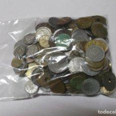 Monedas de España: LOTE 1 KILO DE MONEDAS ESPAÑOLAS DE DIFERENTES ÉPOCAS Y VALORES. Lote 262781485