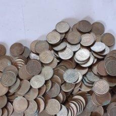 Monedas de España: LOTE DE 1 KILO DE PESETAS DE JUAN CARLOS L AÑOS 75 Y80. Lote 278537908