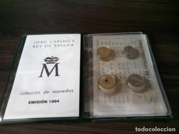 Monedas de España: CARTERA MONEDAS EMISION 1994 MAS UNA MONEDA 100 PTS SIN CIRCULAR DE ESE AÑO - Foto 2 - 265460004