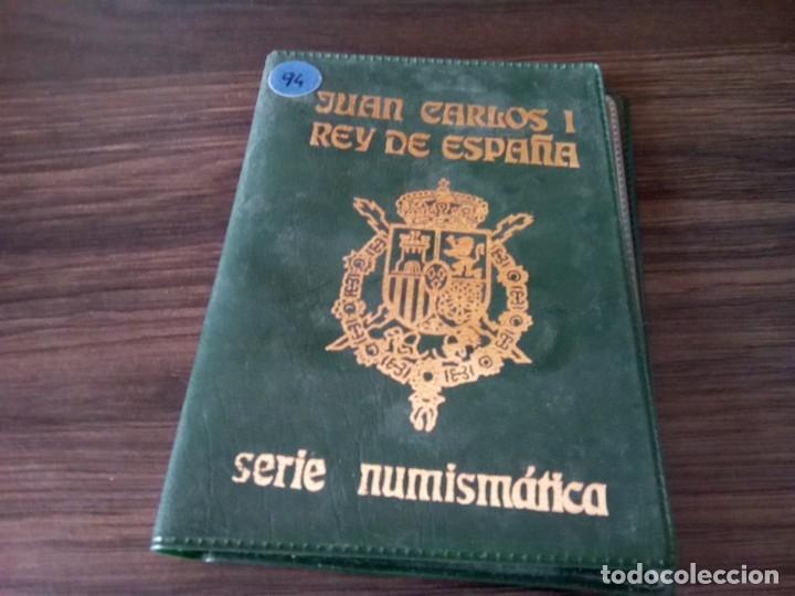 Monedas de España: CARTERA MONEDAS EMISION 1994 MAS UNA MONEDA 100 PTS SIN CIRCULAR DE ESE AÑO - Foto 5 - 265460004