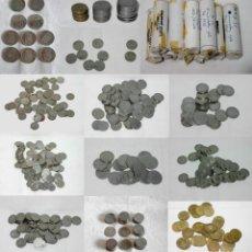 Monedas de España: LOTE 1006 MONEDAS DE 1-5-25 Y 50 PESETAS- -1953-1957-1966-1975-1980-1983-*58-59-65-76-77-78-79-80-81. Lote 265813759