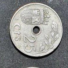 Monedas de España: 25 CÉNTIMOS 1927/1934/1937 MBC. Lote 266456223