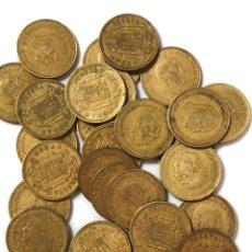 Monedas de España: 30 MONEDAS DE 1 PESETA DE 1966 ESTRELLA 74.. Lote 267485264