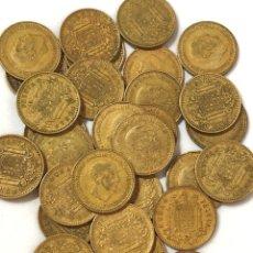 Monedas de España: 30 MONEDAS DE 1 PESETA DE 1966 ESTRELLA 73.. Lote 267486864
