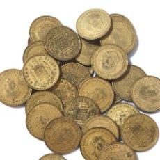 Monedas de España: 30 MONEDAS DE 1 PESETA DE 1966 ESTRELLA 72.. Lote 267489049