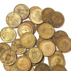 Monedas de España: 30 MONEDAS DE 1 PESETA DE 1966 ESTRELLA 71.. Lote 267489979