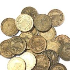 Monedas de España: 25 MONEDAS DE 1 PESETA DE 1966 ESTRELLA 68.. Lote 267495514