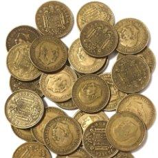Monedas de España: 30 MONEDAS DE 1 PESETA DE 1966 ESTRELLA DEL 67.. Lote 267496559