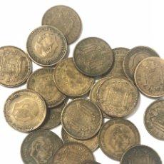 Monedas de España: 20 MONEDAS DE 1 PESETA DE 1963 ESTRELLA DEL 65.. Lote 267499479