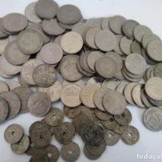Monedas de España: LOTE DE 140 MONEDAS ESPAÑOLAS 50 PTS , 25 PTS Y 0,50 CTS. Lote 267752724
