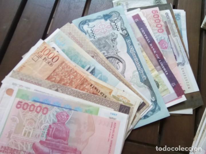 Monedas de España: LOTE DE 137 BILLETES EXTRANJEROS CIRCULADOS CON BUENA CONSERVACION B.C.+ - Foto 7 - 269092513
