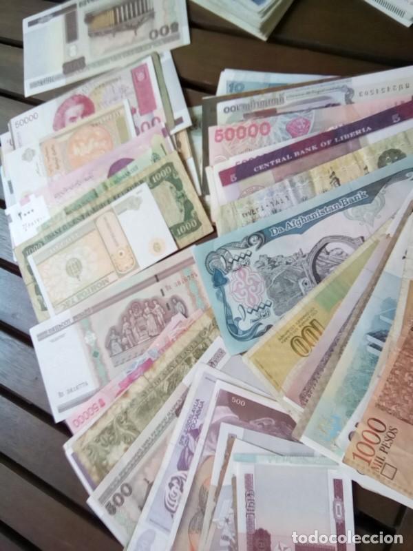 Monedas de España: LOTE DE 137 BILLETES EXTRANJEROS CIRCULADOS CON BUENA CONSERVACION B.C.+ - Foto 8 - 269092513