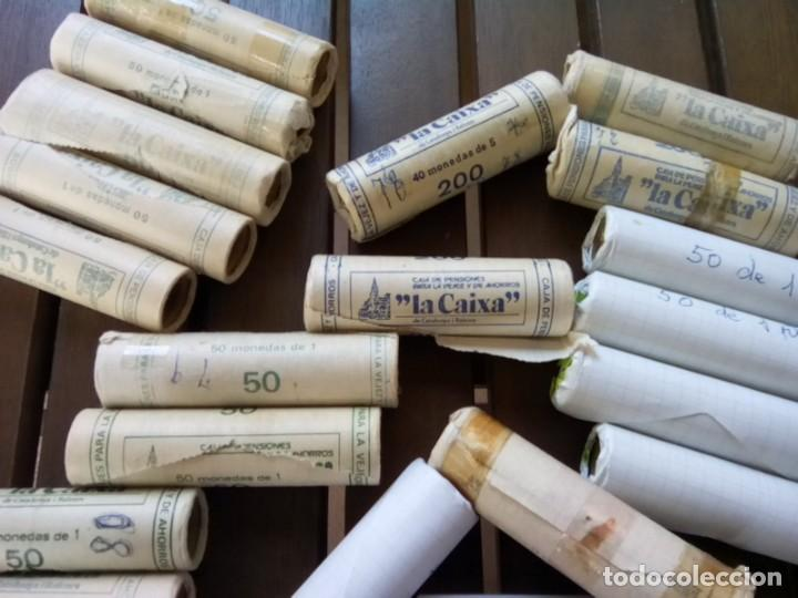 Monedas de España: LOTE DE 32 CARTUCHOS DE MONEDAS VER DESCRIPCION - Foto 4 - 269117563