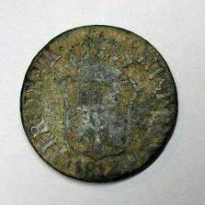 Monedas de España: JOSÉ NAPOLEÓN 4 CUARTOS 1810, FERNANDO VII 3 QUARTOS 1912 E ISABEL II, 3 CUARTOS 1837. LOTE 3838. Lote 269951548