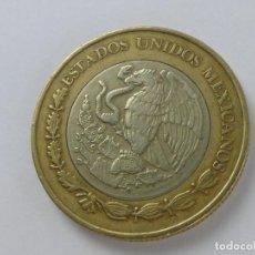 Monedas de España: MONEDA MEXICO PESO 10 PESOS MEJICO ESTADOS UNIDOS MEXICANOS. AÑO 2002. Lote 275899278