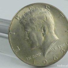 Monedas de España: MONEDA DE 1/2 DOLAR AMERICANO KENEDY-1965 LIBERTY. Lote 275899443