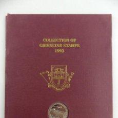 Monedas de España: COLLECTION OF GIBRALTAR STAMPS 1993. Lote 275937648