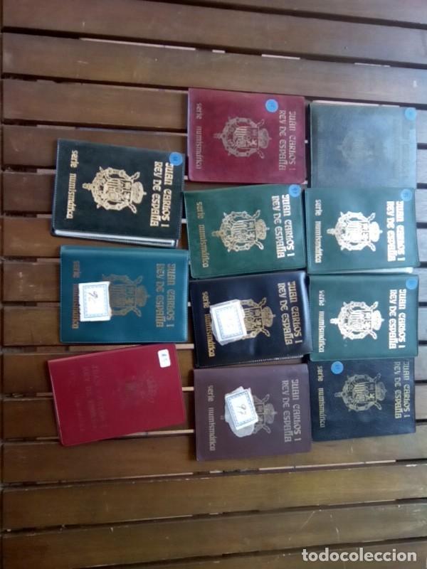 LOTE DE 11 CARTERAS MONEDAS DIFERENTES AÑOS F.N.M.T.VER (Numismática - España Modernas y Contemporáneas - Colecciones y Lotes de conjunto)