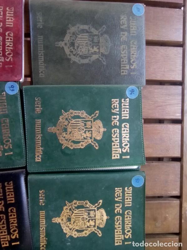 Monedas de España: LOTE DE 11 CARTERAS MONEDAS DIFERENTES AÑOS F.N.M.T.VER - Foto 3 - 276288068