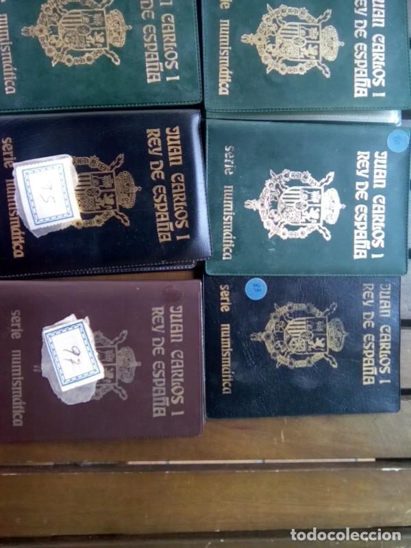 Monedas de España: LOTE DE 11 CARTERAS MONEDAS DIFERENTES AÑOS F.N.M.T.VER - Foto 4 - 276288068
